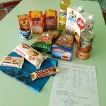 Выдача набора продуктов