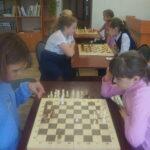 Cоревнования по шахматам среди девочек 5-х классов